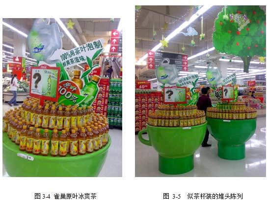 如果:卖场中的灯箱,店头广告,; 超市酒水陈列创意图; 并能产生冲动的图片